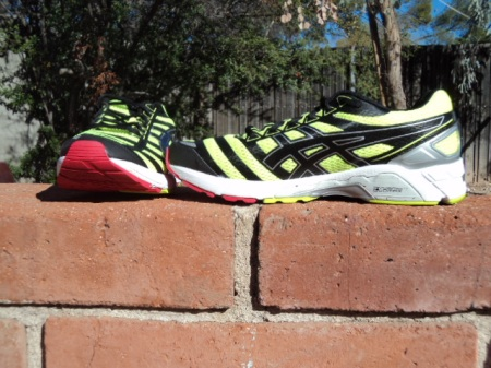 Bold colors, great ride, Asics DS 18